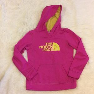 The North Face Hot Pink Hoodie